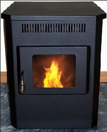 Corn Flame Multi-Fuel Stove